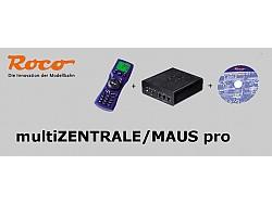 MultiZANTRALE/MAUS pro Digitální bezdrátová centrála ROCO + multiMAUSpro + SW Rocomotion