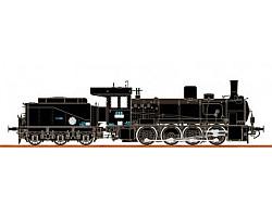 Parní lokomotiva řady 413 - ČSD - analog