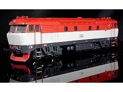 Motorová lokomotiva řady 751 004-3 ČD