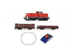 AKCE! Analog-Startset Dieselloko BR 290 + nákladní vlak, DB AG