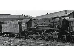 """AKCE!!! Parní lokomotiva S 160 společnosti USTC """"US. Zone Österreich"""""""