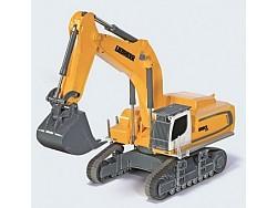 Siku 6740 Liebherr R 980 Pásové rypadlo malých a středních podniků