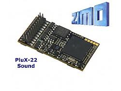 Zvukový lokomotivní dekodér ZIMO MX645P22 ARTOL Bardotka