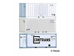 SET 3 kontejnerů