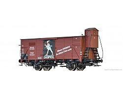 krytý nákladní vůz G10 DRG, DARMOL