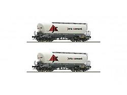 Set dvou Silo vozů SBB, jura cement