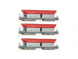SET tří výsypných vozů Faalns, LogServ