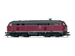 Dieselová loko 218 245-9, DB, zvuk