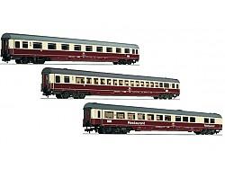 Set tří vozů IC Riemenschneider (SET1), DB