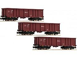 Set tří vozů Eas, ČD Cargo
