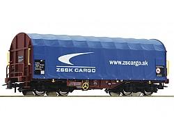 krytý vůz s plachtou Shimmns, ZSSK Cargo