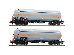 set kotlových vozů na stlačený plyn NACCO