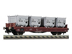 vůz typu Lbs 583, DB s kontejnery