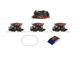 AnalogStartSet s loko BR80 a tři vozy talbot