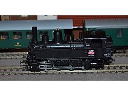 Parní lokomotiva 422.002, ČSD, DCC+zvuk (kouř)