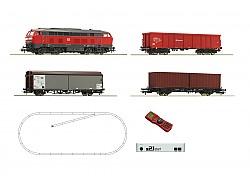 Digitální set - vlak s lokomotivou BR218 DBAG s kolejemi s podložím