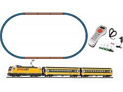 Digitální set - vlak s loko BR386 RegioJet, koleje s podložím