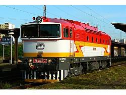 Dieselová loko 754-012, ČD