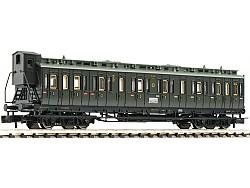 Oddílový vůz 2./3. třídy typu BC pr04, DRG II.epocha