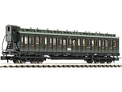 oddílový vůz 3. třídy typu C4 pr04 DRG II.epocha
