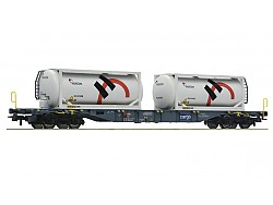 Plošinový vůz Sgnss SBB, Holcim Tankcontainer