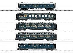 5 osobních vozů Simplon Orient Express