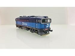 Motorová lokomotiva 750 013-5 ČD Cargo
