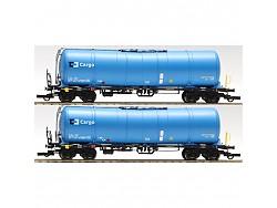 Set 2 cisternových vozů ČDC Zacns