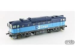 Dieselová loko Brejlovec 750 079, ČD-Cargo