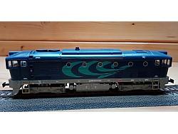 Dieselová loko 753 722, UNIPETROL