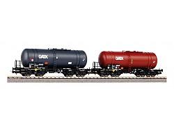 2ks Cisternový vůz 406R GATX, PKP