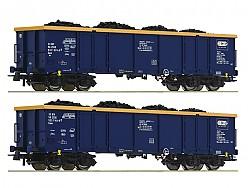 otevřené vozy Eaos 2ks Chem Trans Logistic
