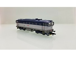 Diesel loko řady 754 060, ČD