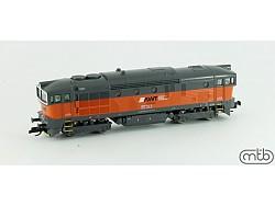 lokomotiva Brejlovec AWT 753 724, analog