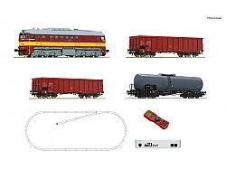 digitální start-set z21 s Lokomotivou T679.1 Sergej a nákladním vlakem ČSD