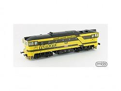 lokomotiva Brejlovec Viamont 753-723, analog