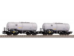 Set dvou kotlových vozů (406Ra) Zaes CTL Logistics VI