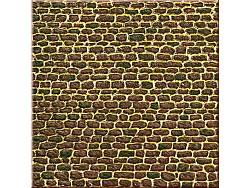 1 lepenka se vzorem nepravidelného zdiva, nebalená