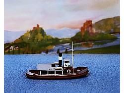 Lodivodský člun 18 cm dlouhý - 1 ks