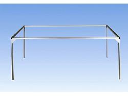 Hliníková rámová konstrukce 180 x 100 cm - sada