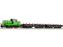 Set vlaku Maxhütte dieselová loko MH-2