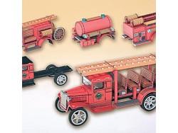 Hawkey set hasiči s vystřihovánkami